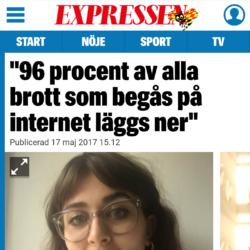 Expressen, 17 maj 2017